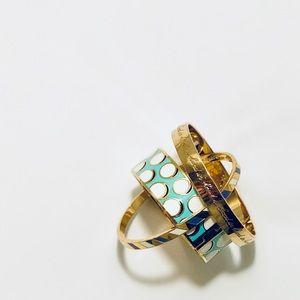 Kate Spade {Bundle} Gold Plated Bangle Bracelets
